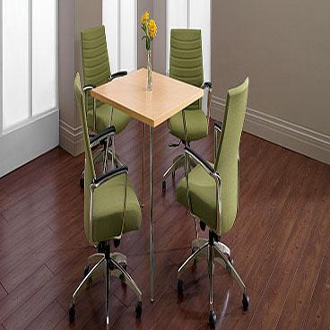 "Wind 36"" Square Laminate Table"