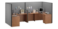 Office cubicles Systems Solero Double (Open)